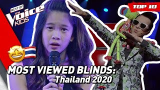 TOP 10 | MOST VIEWED Blind Auditions of 2020: Thailand 🇹🇭 | The Voice Kids