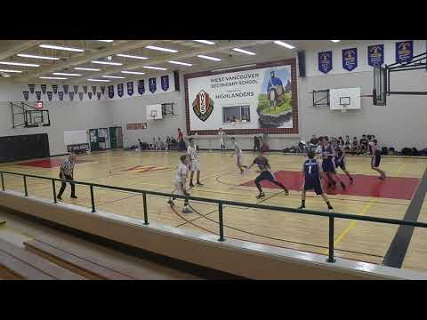 Sentinel Spartans Vs West Vancouver Highlanders