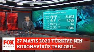 27 Mayıs 2020 Türkiye'nin koronavirüs tablosu... 27 Mayıs 2020 Fatih Portakal ile FOX Ana Haber