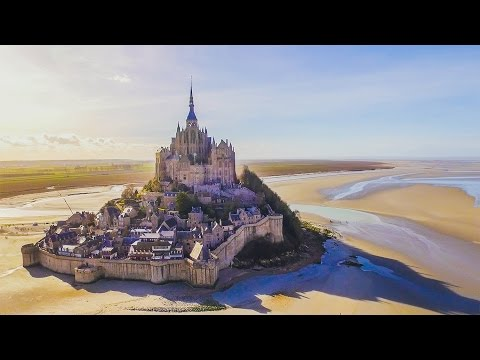 Exploring Incredible ISLAND MONASTERY! (Mont Saint-Michel, France)