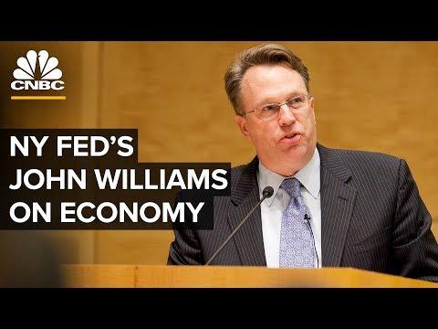 New York Fed's John Williams Speaks On US Economy And Monetary Policy - 06/06/2019