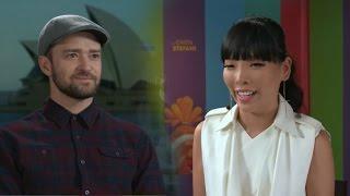 Justin Timberlake interview with Dami Im - Trolls Movie!