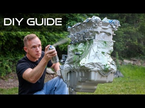 How To Paint Your Engine! (Head, Block, Oil Pan)