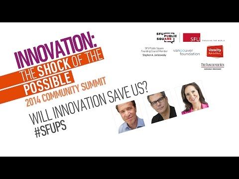 Will Innovation Save Us? With Ray Kurzweil & Richard Florida Moderated by Amanda Lang