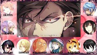 【合唱:Gintama OP2】 Pride Kakumei / プライド革命 【11人+Rap YT/NND Chorus 】
