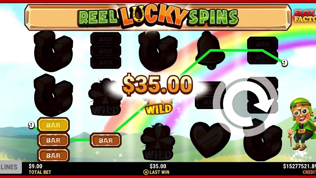 Reel Lucky Spins Slot Play Free ▷ RTP 94.4% & Low Volatility video preview