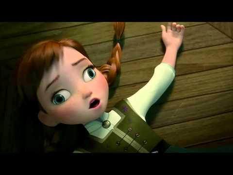 Anna does the tick tock thing for an hour Crosseyed