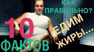 10 ФАКТОВ о употреблении ЖИРОВ. ВНИМАНИЕ!!! в видео присутствует ненормативная лексика!