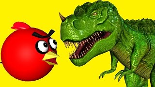 ANGRY BIRDS in a JURASSIC WORLD  ♫ 3D animated  Jurassic Dinosaur  mashup  ☺ FunVideoTV - Style ;-))