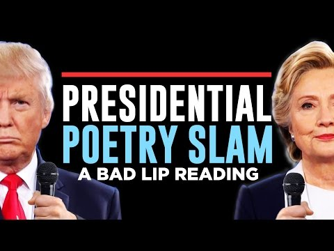 "Thumbnail: ""PRESIDENTIAL POETRY SLAM"" — A Bad Lip Reading of the Second Presidential Debate"