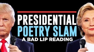 presidential poetry slam a bad lip reading of the second presidential debate