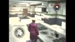 Saints row 2 glitches- Under map, prison style, a ghost room