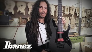 james munky shaffer from korn on his ibanez apex200 and apex20 signature models