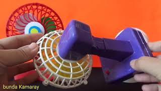 Mini Fan rainbow - Quạt mini cầu vồng