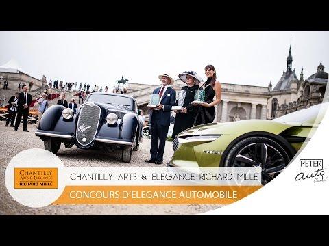 Chantilly Arts et Elegance Richard Mille - Concours d'Elegance Automobile