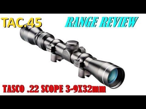 TASCO .22 MAG RIFLESCOPE RANGE REVIEW