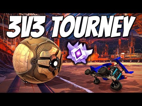 First 3v3 Tournament since coming back.. (Rocket League Gameplay) thumbnail