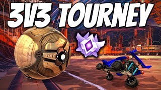 First 3v3 Tournament since coming back.. (Rocket League Gameplay)