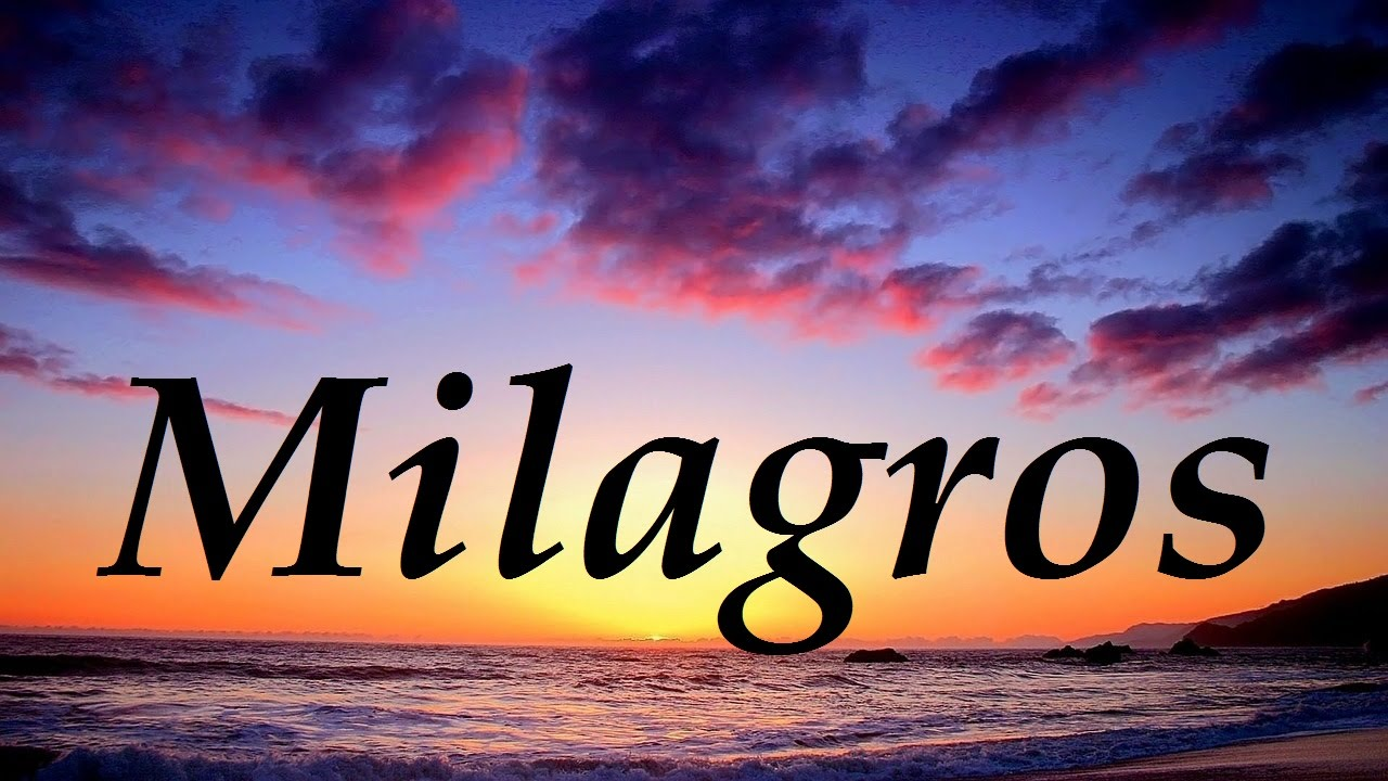 what does the name milagros mean