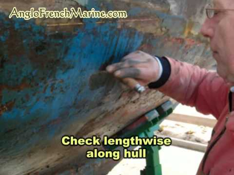 Wooden boat shipwright tips   checking for hull rot