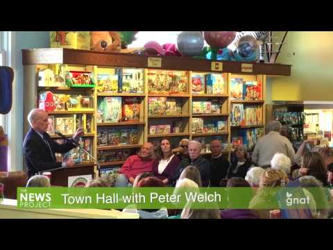 The News Project - Town Hall with Peter Welch 03.15.17
