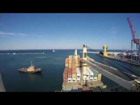 видео: Одесский порт глазами моряков