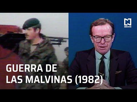 Jacobo Zabludovsky reporta el inicio de la Guerra de las Malvinas (1982)