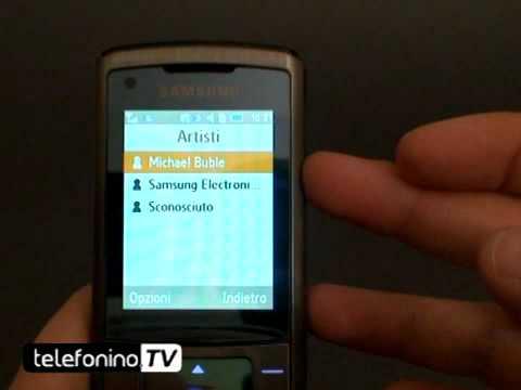 Samsung sgh-u900 soul videoreview da telefonino.net