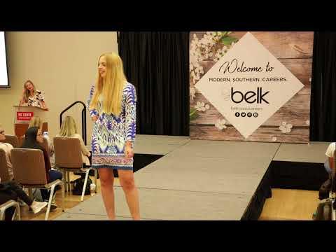 NC State Career Development Center Belk Fashion Show