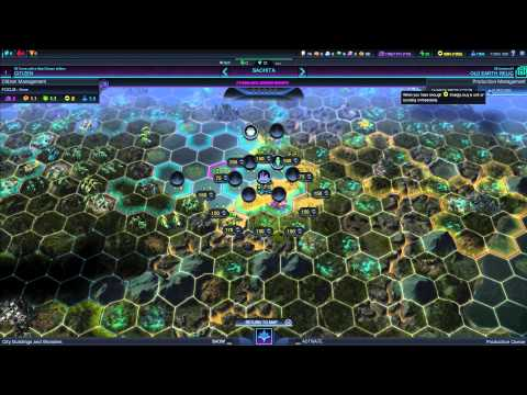 Civilization Beyond Earth: Harmony Gameplay #9 - Rising Tensions