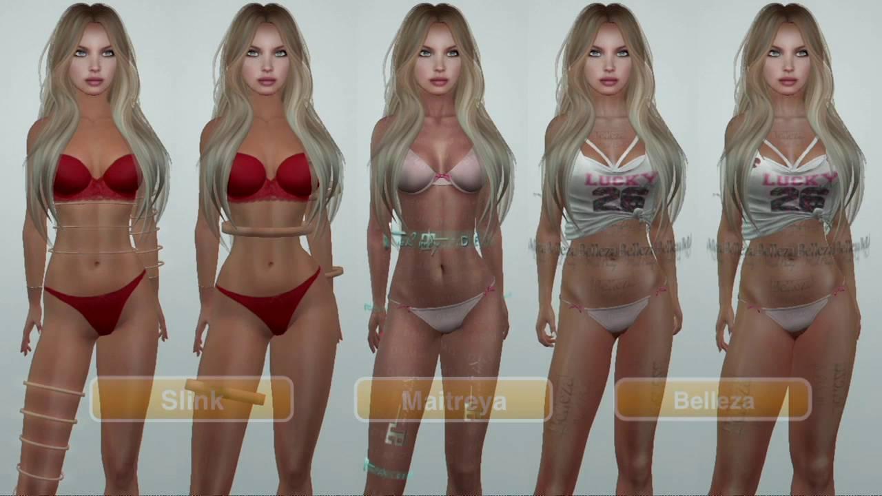 ¿Que cuerpo mesh elegir? - DEMO Body Mesh Maitreya Belleza Slink