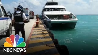 Fiery Blast On Ferry At Mexican Resort Wounds 25 | NBC News