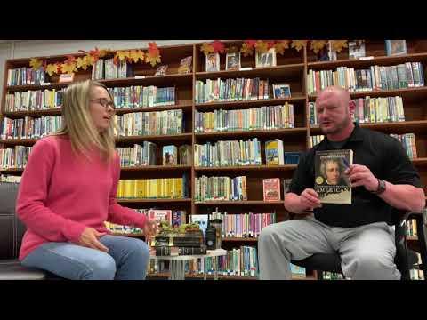 North Pike Middle School Library Feature Teacher Reader Allen Barron