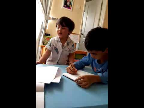 Andreas learn Bahasa Melayu
