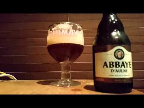 Oldest Brewery 657 AD Bruin Abbaye D'Aulne 6%