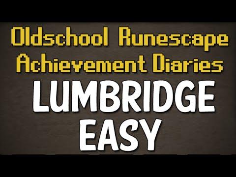 Lumbridge & Draynor Easy Achievement Diary Guide | Oldschool Runescape