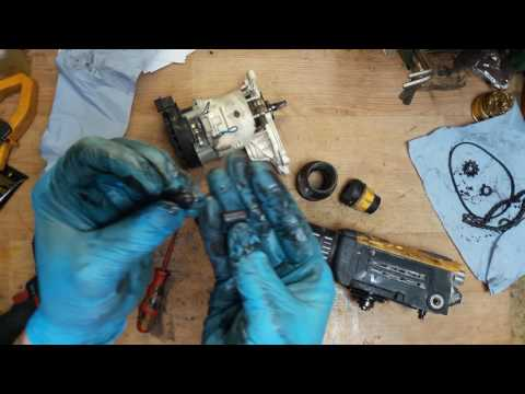 How to disassemble and find proble for Dewalt D25501 rotary hammer drill