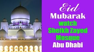 Best 5 places in Abu Dhabi,UAE for tourists