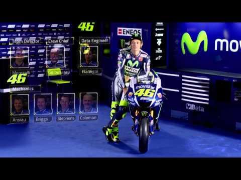 Valentino Rossi Unveiling video - Movistar Yamaha MotoGP 2015