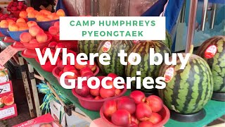 Best Places to Shop for Groceries near Camp Humphreys in Pyeongtaek