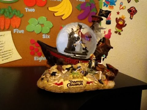 DISNEY, PIRATES OF THE CARIBBEAN GLOBE A MUST SEE! DISNEY TOYS