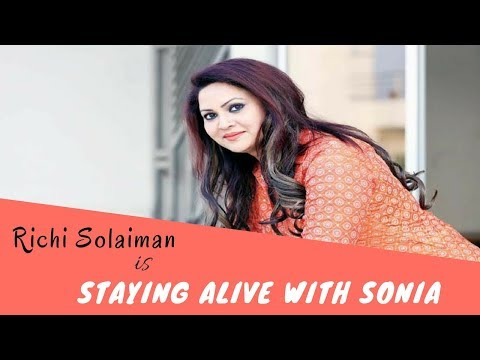 Richi Solaiman is staying alive with Sonia at NYC   Real Chamak