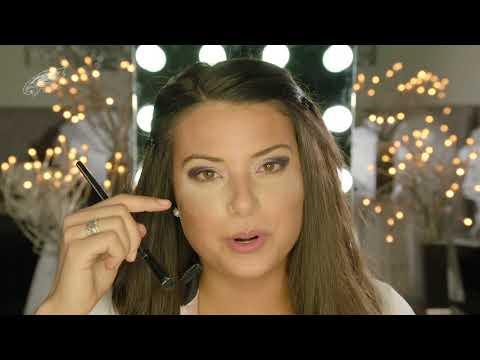 Philadelphia Eagles Cheerleader: Smokey Eye Makeup Tutorial