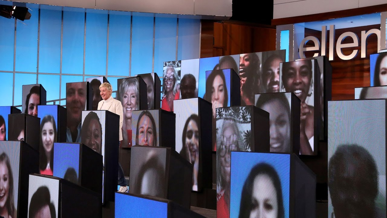 Ellen Welcomes Her First Virtual Audience with a Big Gift!