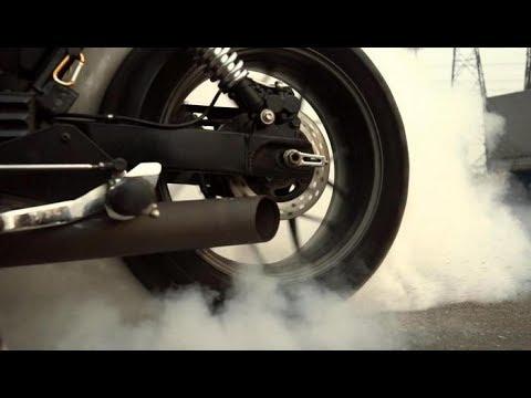 1 тест драйв кастома Triumph Speedmaster жжем резину Youtube