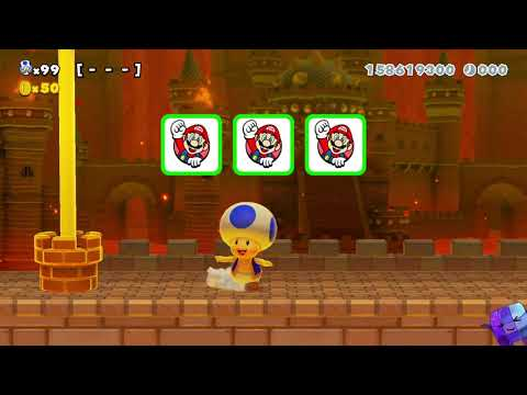 Super Mario Maker 2 🔧 Endless Challenge 5633 - 5640