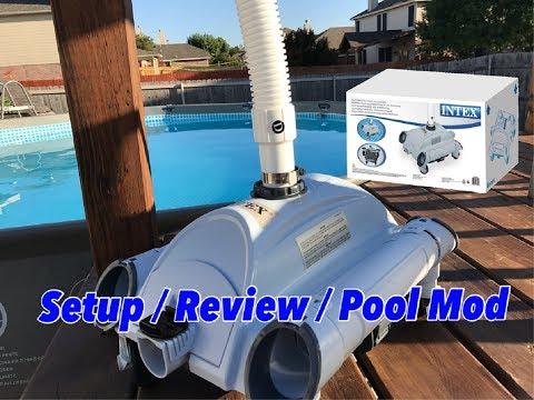 How to hook up a intex pool vacuum