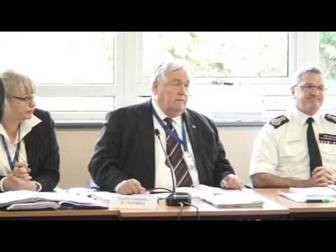 NORTH YORKSHIRE FIRE MEETING Final Moments and Vote