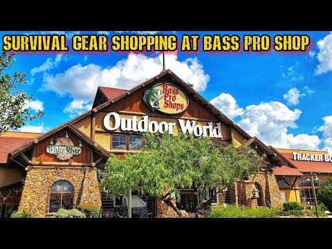 EDC & Survival Shopping at Bass Pro Shop!