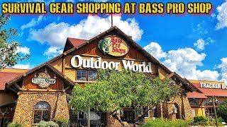 EDC & Survival Shopping at Bass Pro Shop!